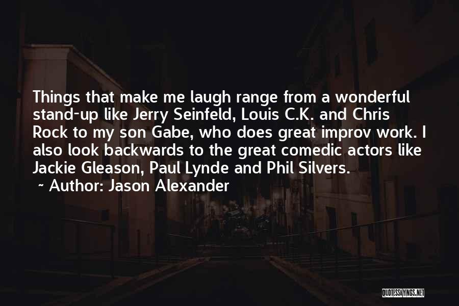 Stand Like A Rock Quotes By Jason Alexander