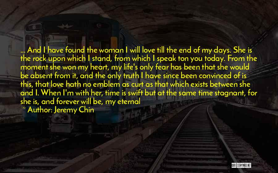 Stand Like A Rock Quotes By Jeremy Chin