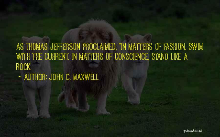 Stand Like A Rock Quotes By John C. Maxwell