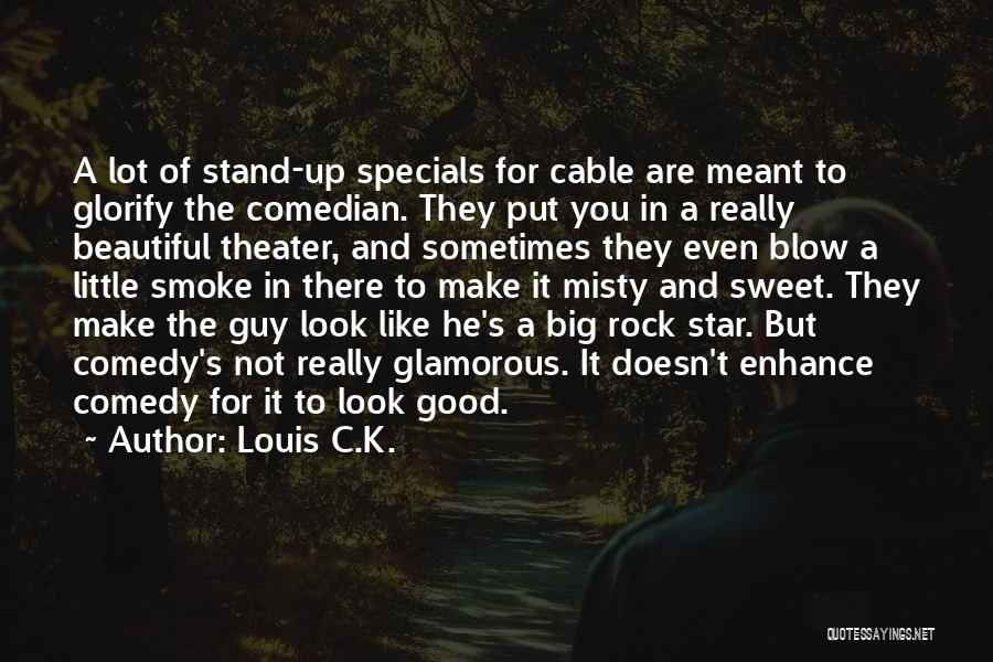 Stand Like A Rock Quotes By Louis C.K.