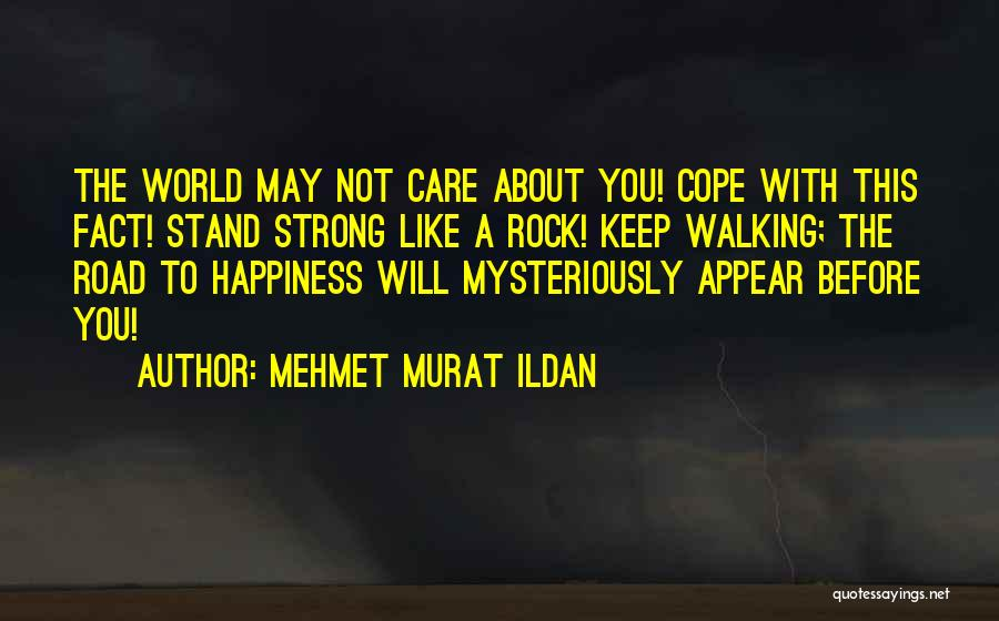 Stand Like A Rock Quotes By Mehmet Murat Ildan