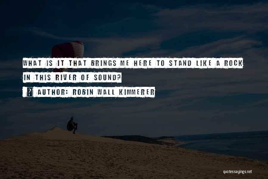 Stand Like A Rock Quotes By Robin Wall Kimmerer