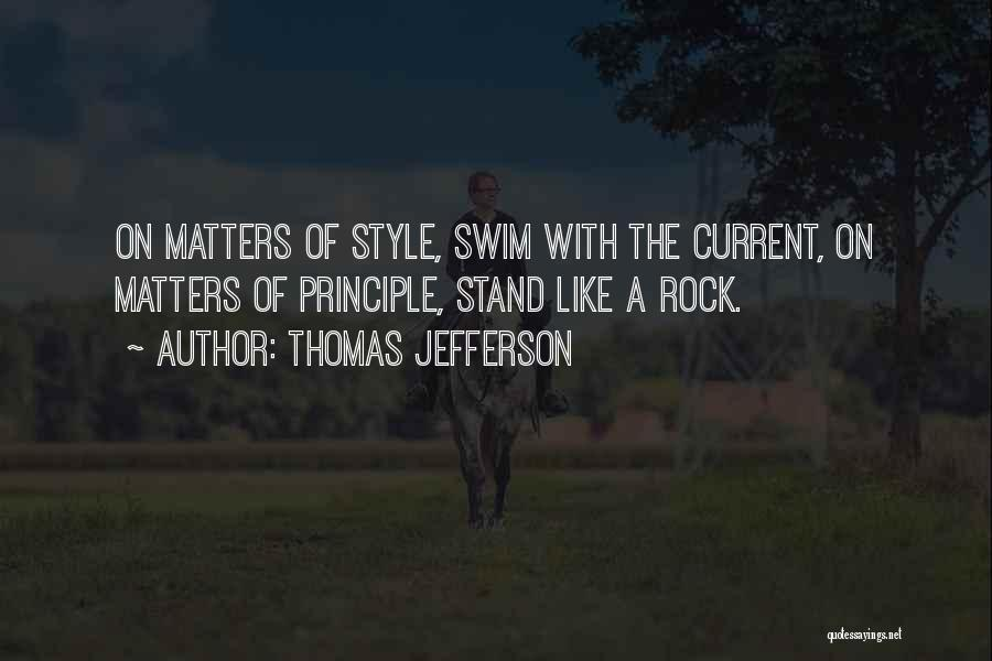 Stand Like A Rock Quotes By Thomas Jefferson