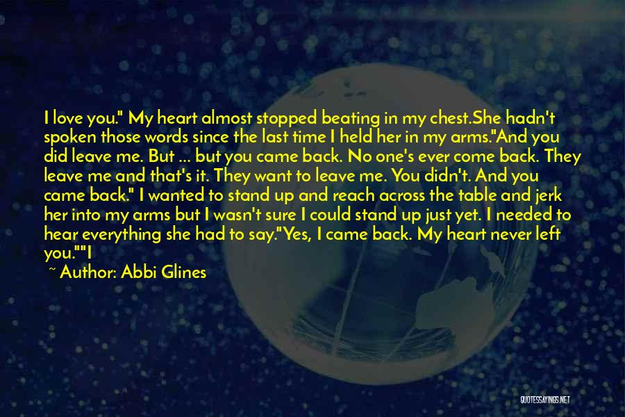 Stand My Side Quotes By Abbi Glines