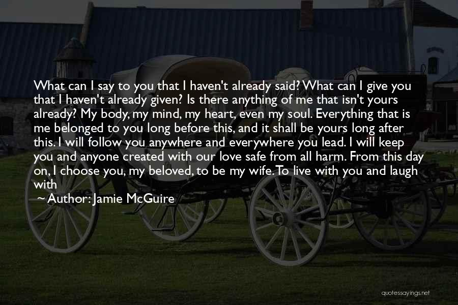 Stand My Side Quotes By Jamie McGuire