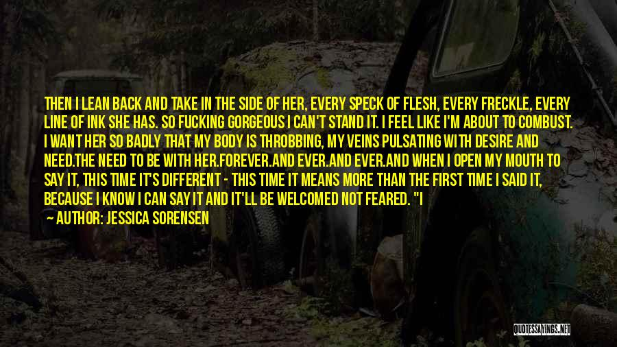 Stand My Side Quotes By Jessica Sorensen