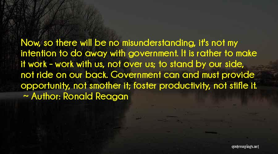 Stand My Side Quotes By Ronald Reagan