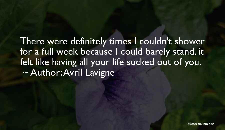 Stand Out Like A Quotes By Avril Lavigne