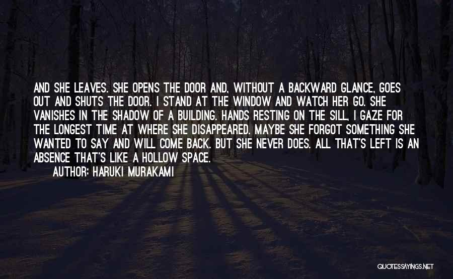 Stand Out Like A Quotes By Haruki Murakami