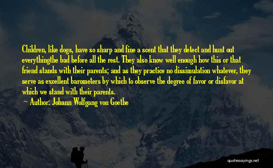 Stand Out Like A Quotes By Johann Wolfgang Von Goethe