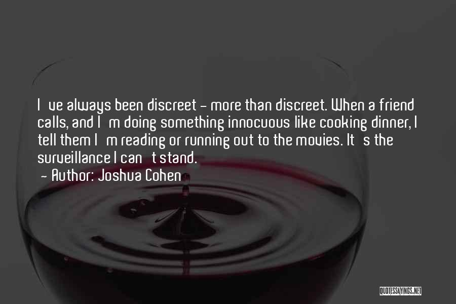 Stand Out Like A Quotes By Joshua Cohen