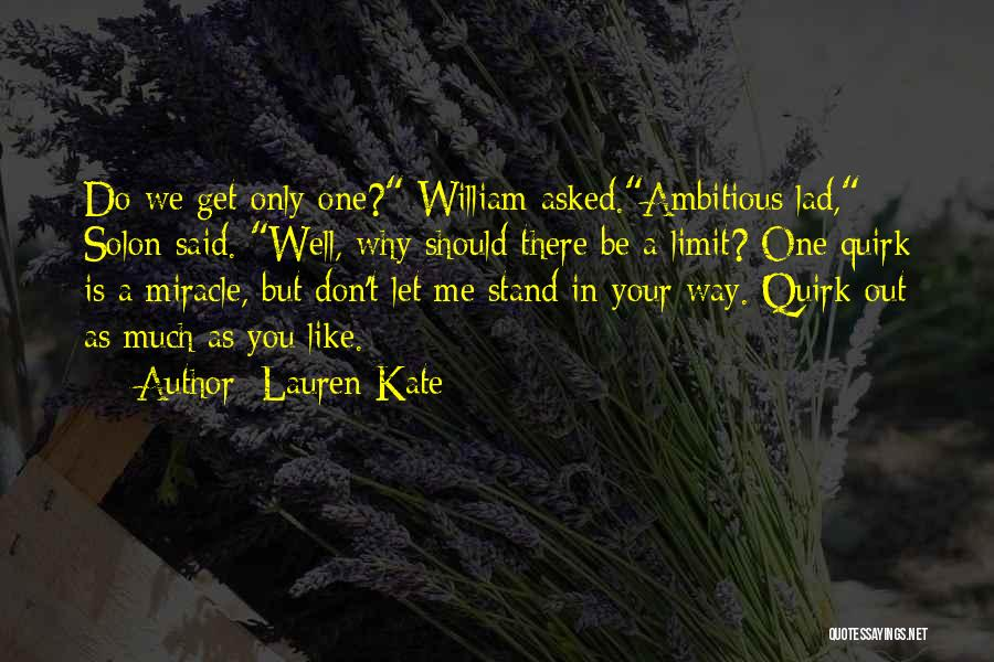 Stand Out Like A Quotes By Lauren Kate