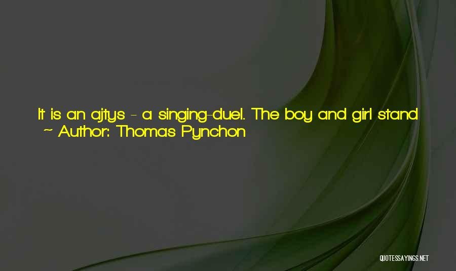 Stand Out Like A Quotes By Thomas Pynchon