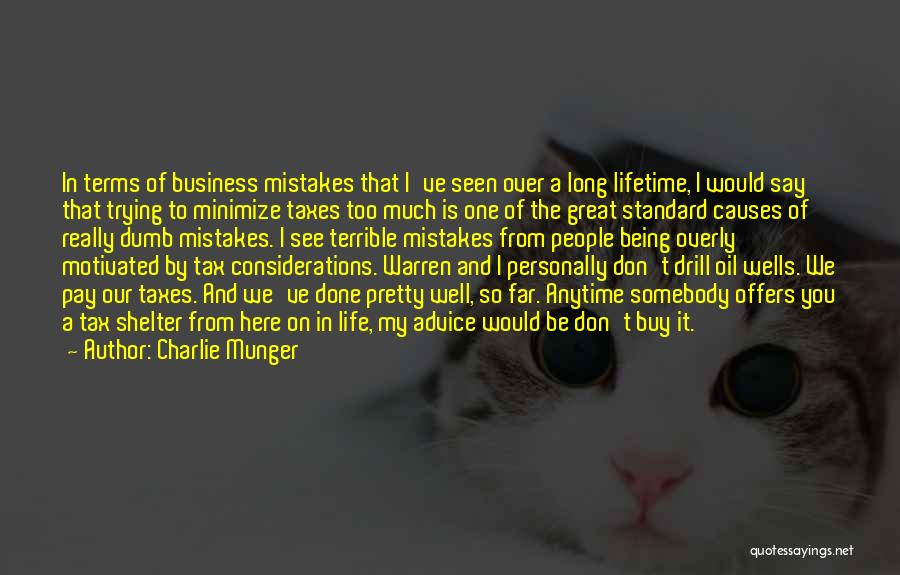 Standard Oil Quotes By Charlie Munger