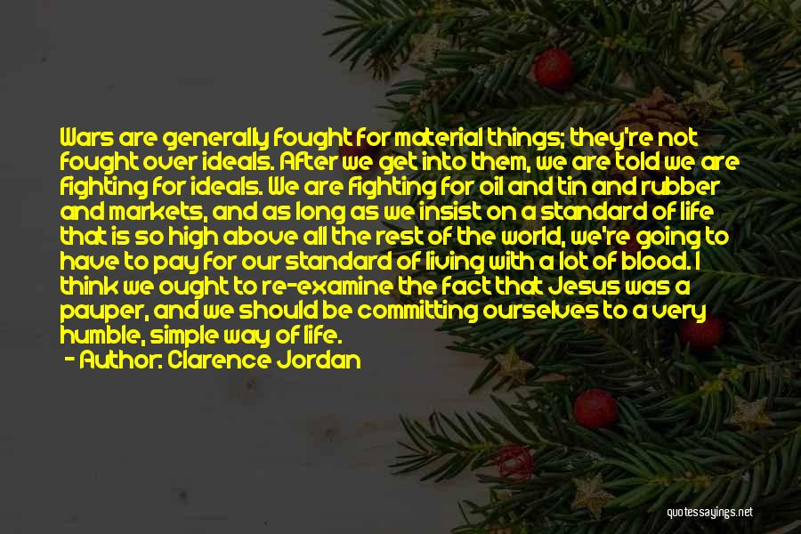 Standard Oil Quotes By Clarence Jordan