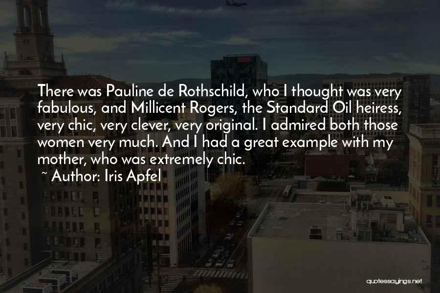 Standard Oil Quotes By Iris Apfel