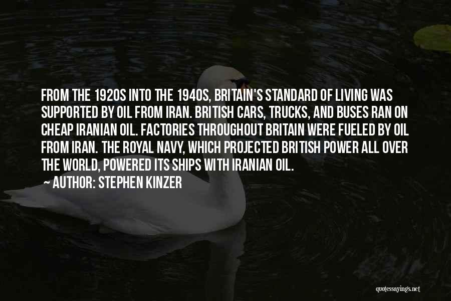 Standard Oil Quotes By Stephen Kinzer
