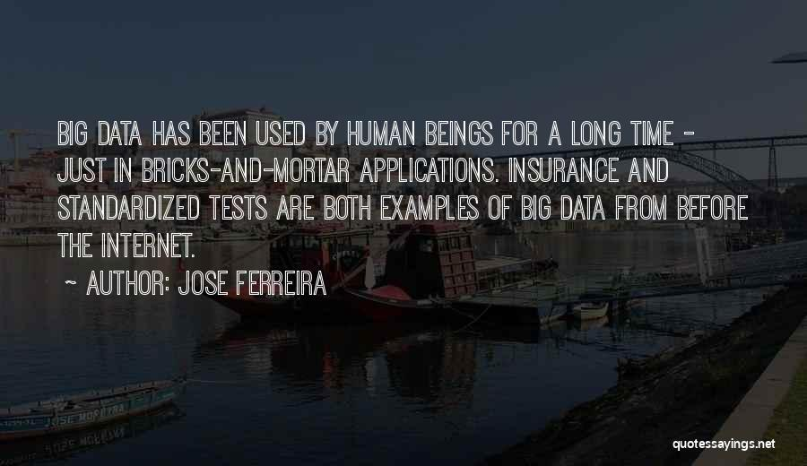 Standardized Tests Quotes By Jose Ferreira