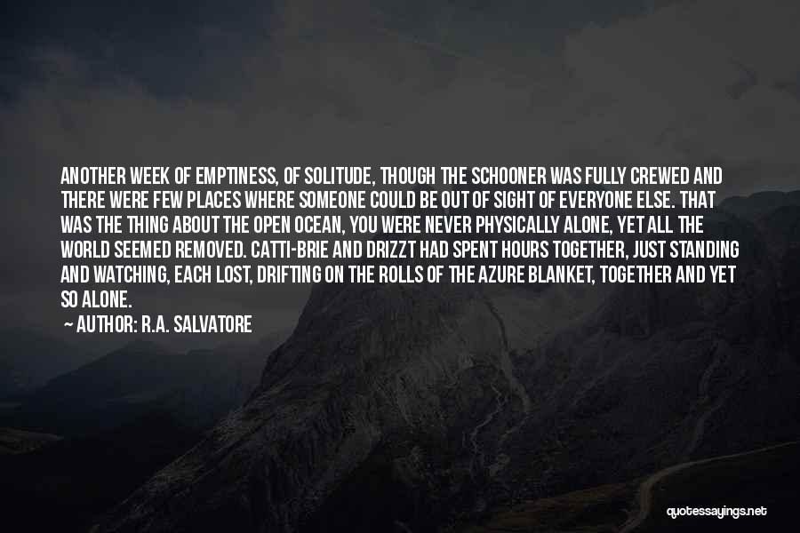 Standing Alone In The World Quotes By R.A. Salvatore