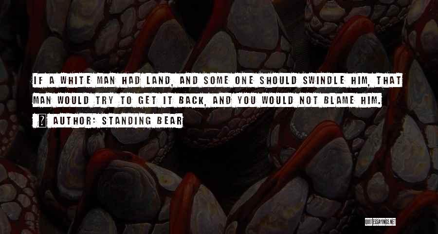 Standing Bear Quotes 539371