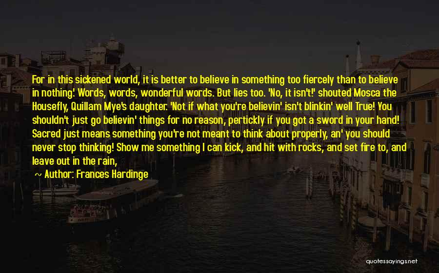 Standing In The Rain Quotes By Frances Hardinge