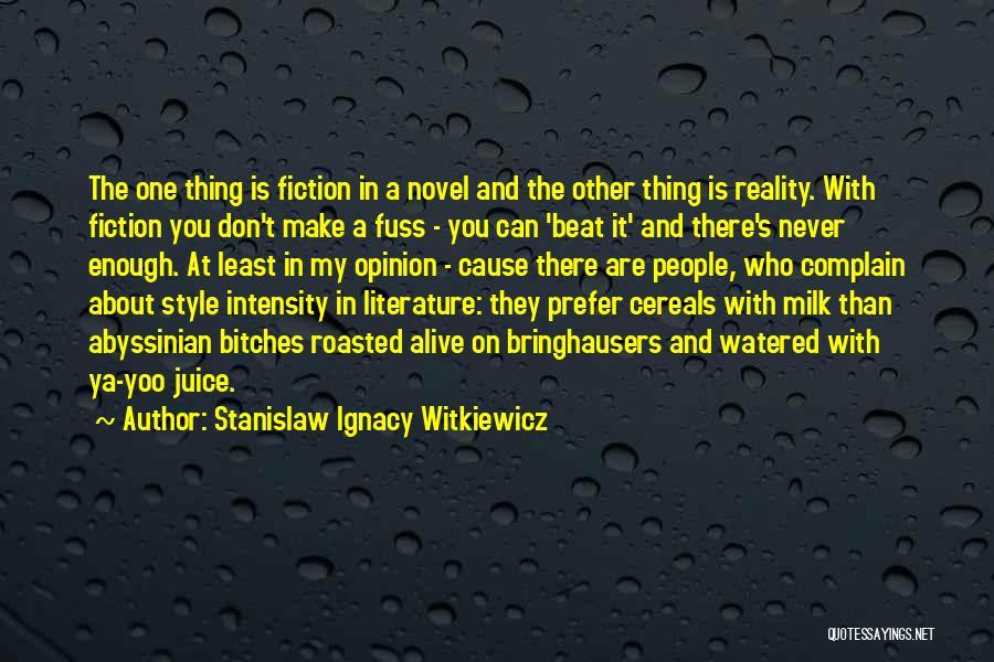 Stanislaw Ignacy Witkiewicz Quotes 2053759