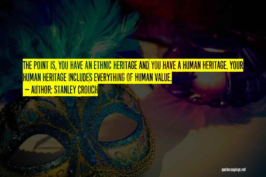 Stanley Crouch Quotes 1029765