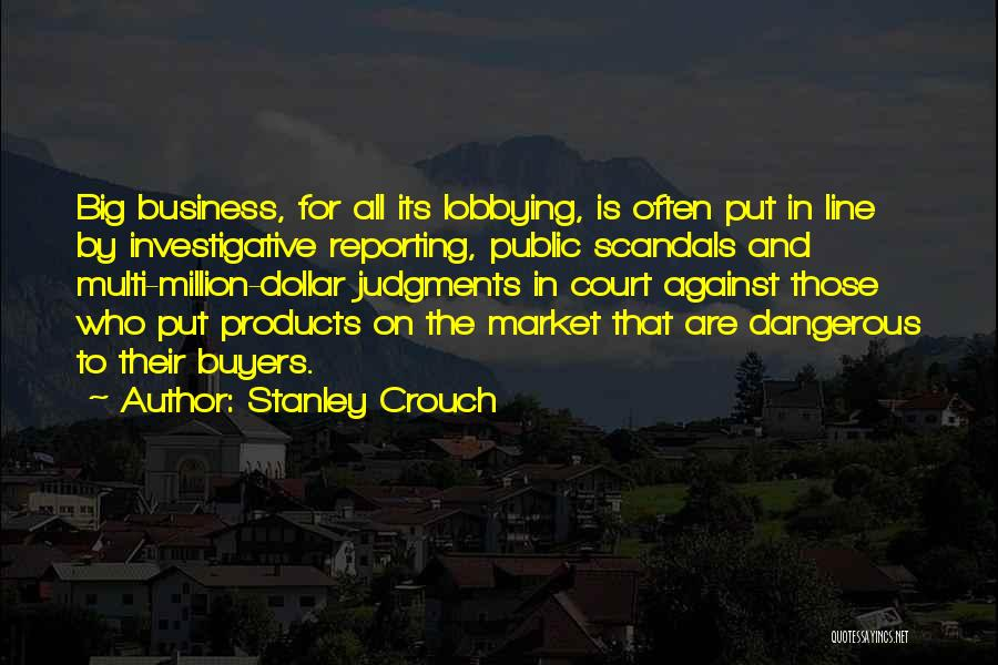 Stanley Crouch Quotes 1111849