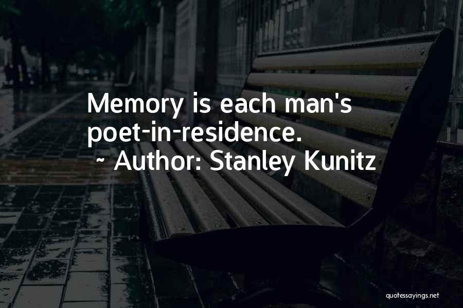 Stanley Kunitz Quotes 1254656