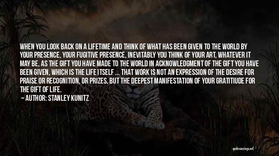 Stanley Kunitz Quotes 1762114