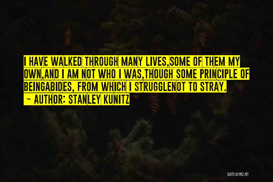 Stanley Kunitz Quotes 1845567