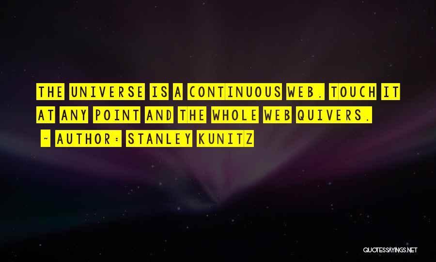 Stanley Kunitz Quotes 211485