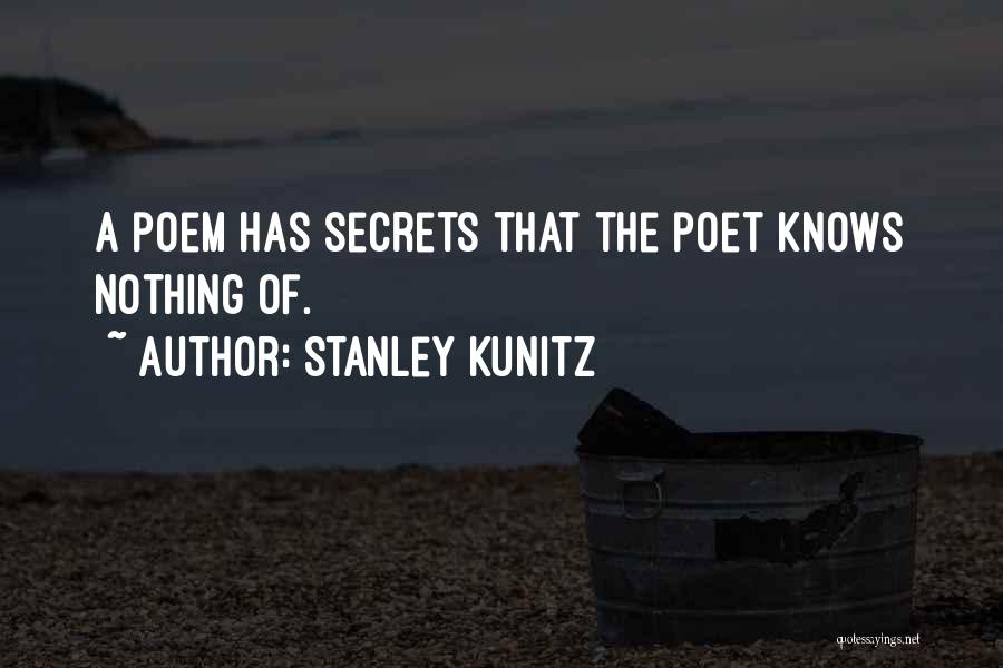 Stanley Kunitz Quotes 383712
