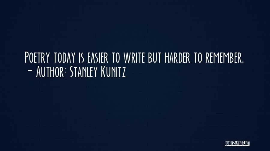Stanley Kunitz Quotes 472434