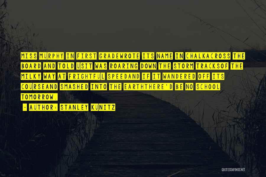 Stanley Kunitz Quotes 98807