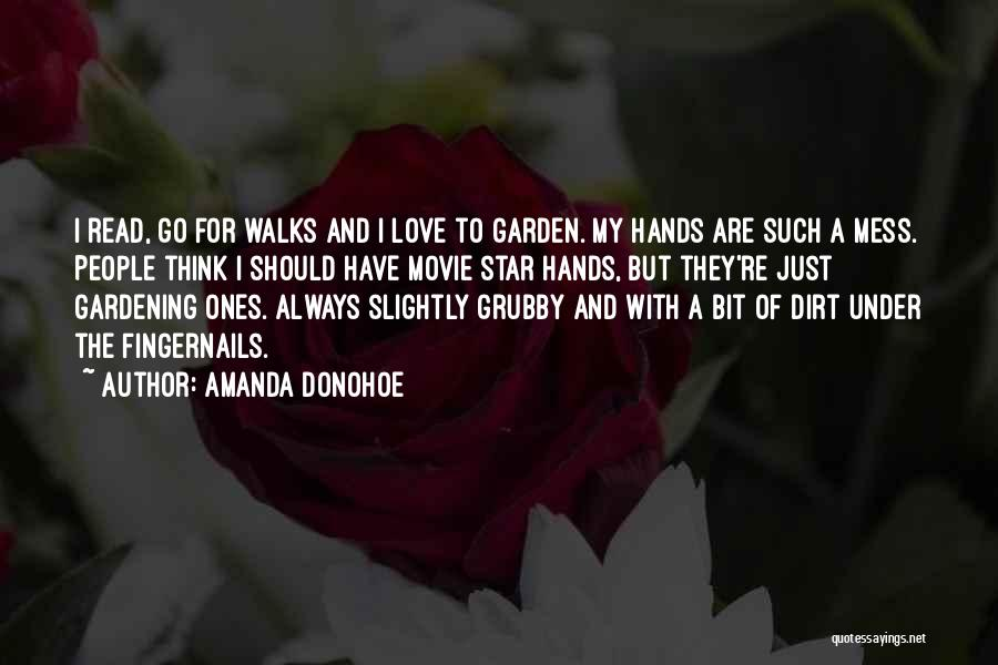 Star And Love Quotes By Amanda Donohoe