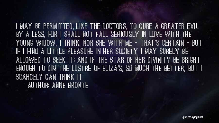 Star And Love Quotes By Anne Bronte