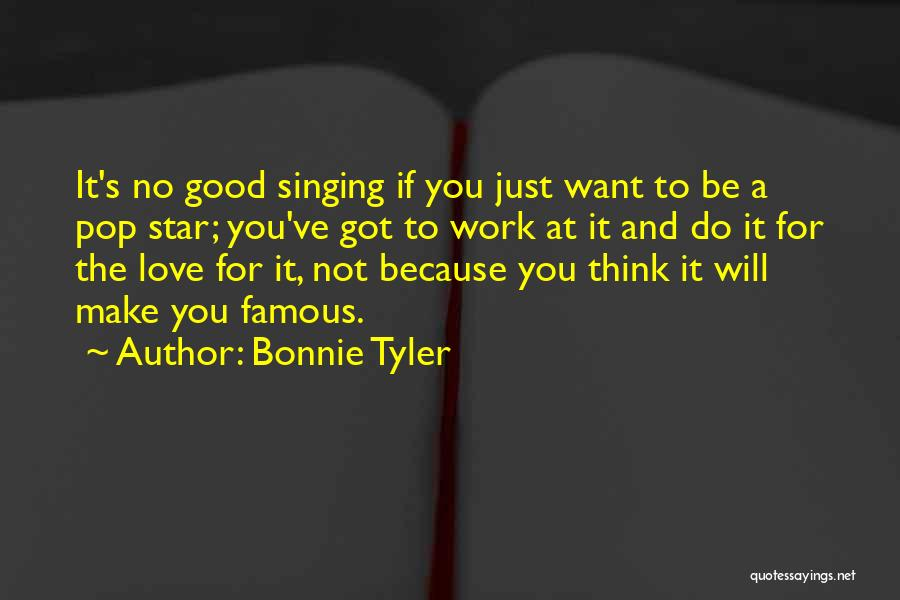 Star And Love Quotes By Bonnie Tyler