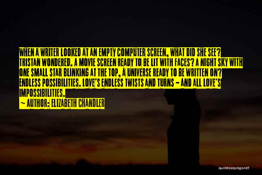 Star And Love Quotes By Elizabeth Chandler