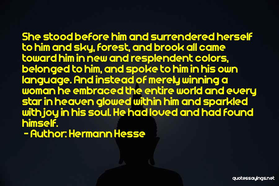 Star And Love Quotes By Hermann Hesse