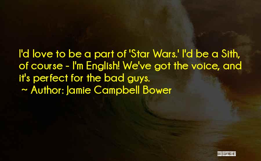 Star And Love Quotes By Jamie Campbell Bower