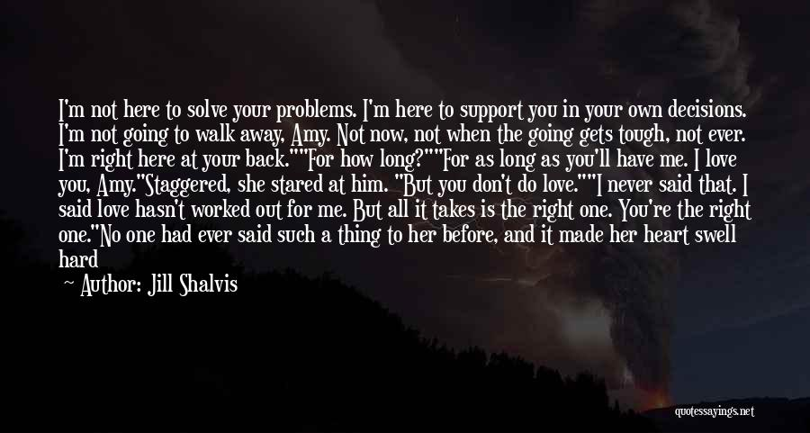 Star And Love Quotes By Jill Shalvis