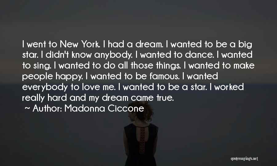 Star And Love Quotes By Madonna Ciccone