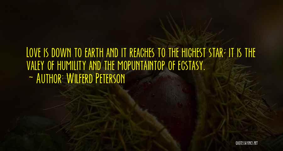 Star And Love Quotes By Wilferd Peterson