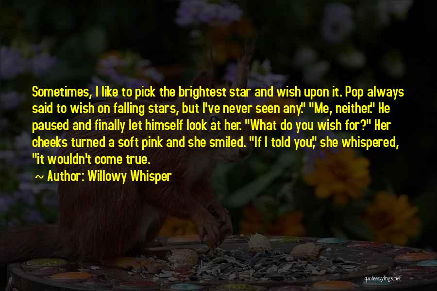 Star And Love Quotes By Willowy Whisper