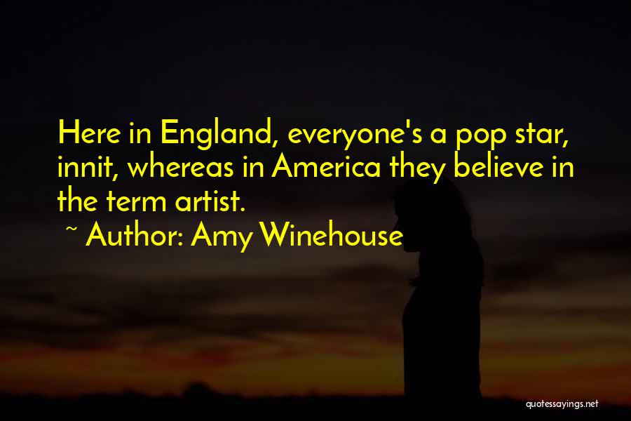 Star In Quotes By Amy Winehouse