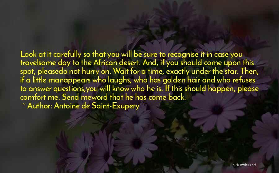 Star In Quotes By Antoine De Saint-Exupery