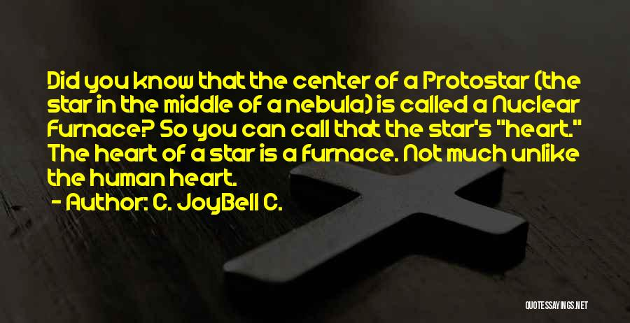 Star In Quotes By C. JoyBell C.