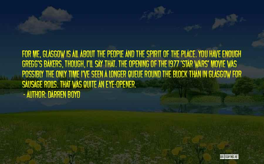Star In Quotes By Darren Boyd