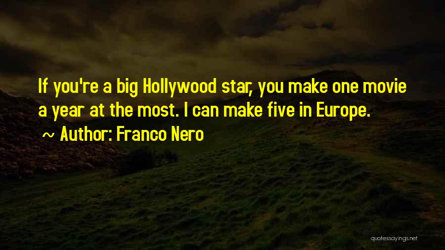 Star In Quotes By Franco Nero